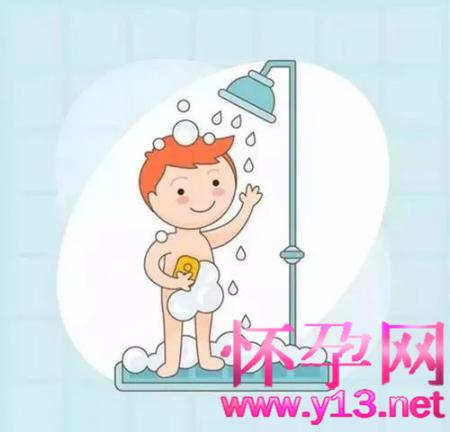 冬天如何给小孩子洗澡?